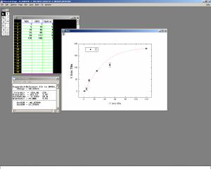 Figure 1. Screenshot of Origin 2.74.